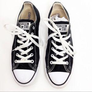 Black Converse Sneakers Women's Size 10